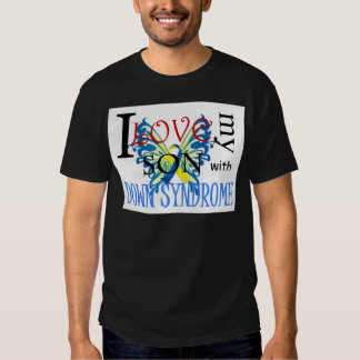I Love My Son with Down Syndrome T Shirt