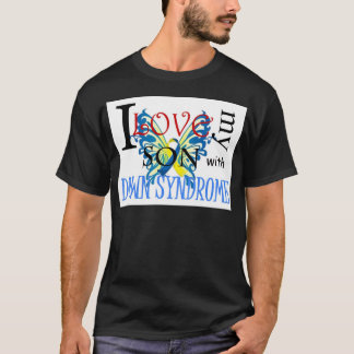 I Love My Son with Down Syndrome T-Shirt