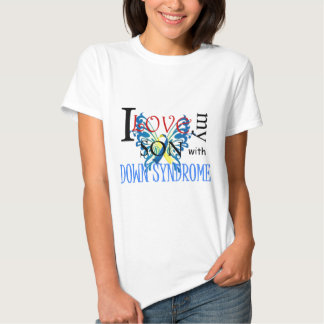 I Love My Son with Down Syndrome Tees