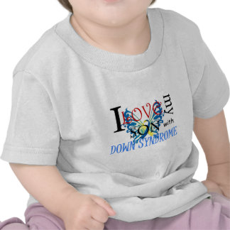 I Love My Son with Down Syndrome Tshirts