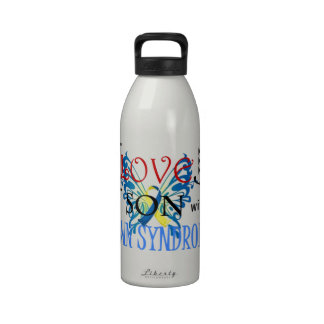 I Love My Son with Down Syndrome Drinking Bottle