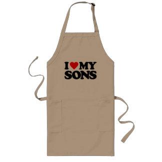 I LOVE MY SONS APRONS