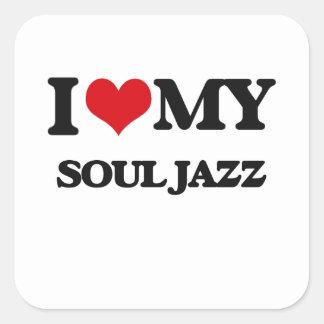 I Love My SOUL JAZZ Sticker