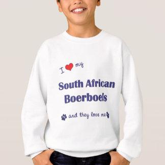 I Love My South African Boerboels (Multiple Dogs) Sweatshirt