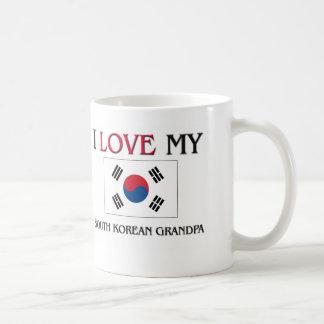 I Love My South Korean Grandpa Coffee Mugs