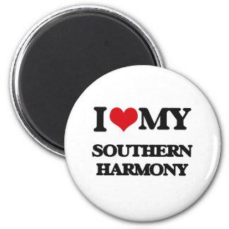 I Love My SOUTHERN HARMONY Magnet