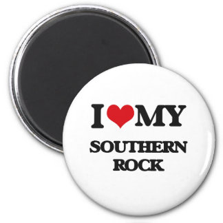 I Love My SOUTHERN ROCK Magnets