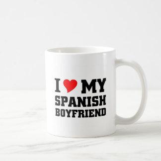 I love my Spanish Boyfriend Coffee Mug
