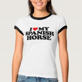 I LOVE MY SPANISH HORSE TSHIRT