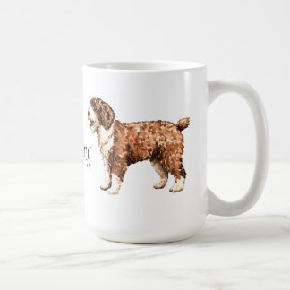 I Love my Spanish Water Dog Coffee Mug