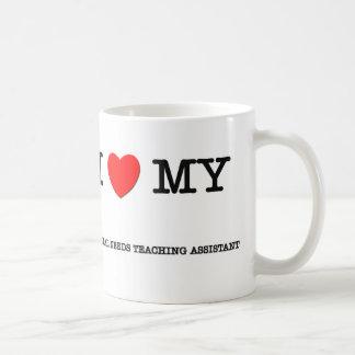 I Love My SPECIAL NEEDS TEACHING ASSISTANT Basic White Mug