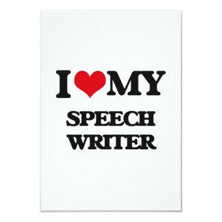 I love my Speech Writer Personalized Invite