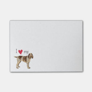I Love my Spinone Italiano Post-it Notes