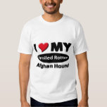 I love my spoiled rotten Afghan Hound Tee Shirt