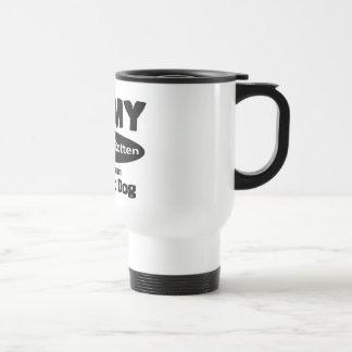 I love my spoiled rotten American Eskimo Dog Coffee Mug