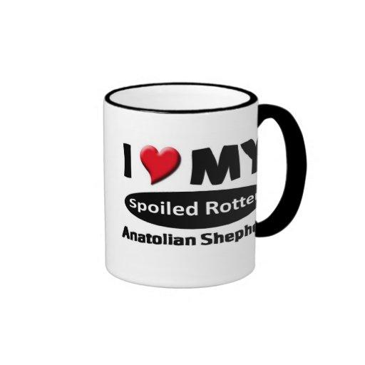 I love my spoiled rotten Anatolian Shepherd Coffee Mug