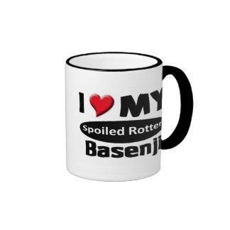 I love my spoiled rotten Basenji Mugs