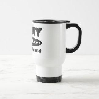 I love my spoiled rotten Basset Hound Mug