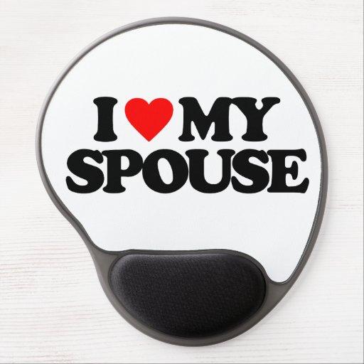 I LOVE MY SPOUSE GEL MOUSEPAD
