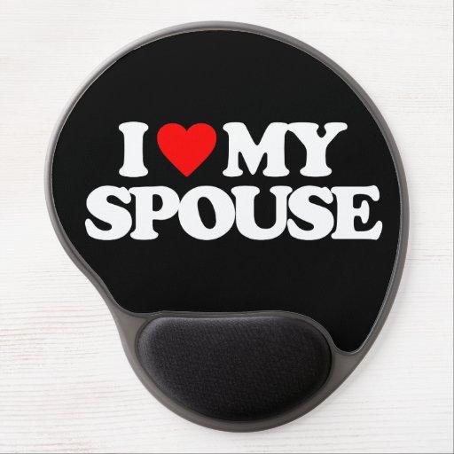I LOVE MY SPOUSE GEL MOUSE MAT