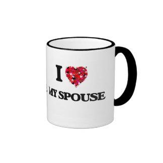 I love My Spouse Ringer Mug
