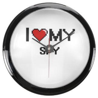 I love my Spy Aquarium Clock