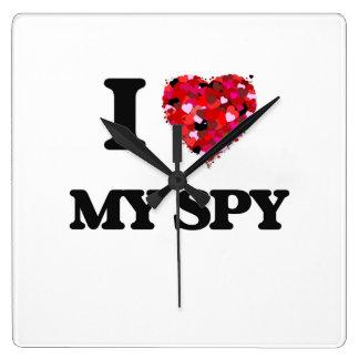 I love My Spy Wallclock