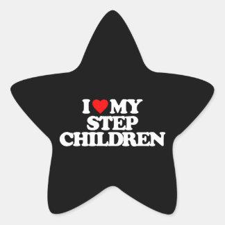 I LOVE MY STEP CHILDREN STAR STICKER
