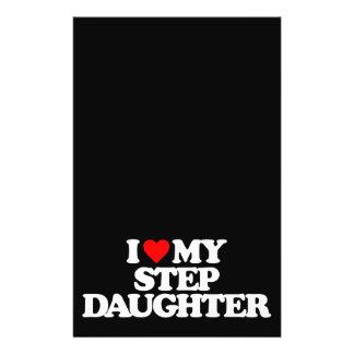 I LOVE MY STEP DAUGHTER FLYER DESIGN