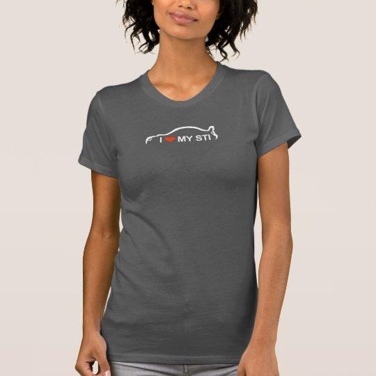 I love my STI Silhouette Logo T-Shirt