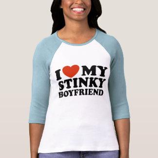 I Love My Stinky Boyfriend Tshirts