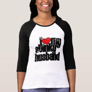 i love my stinky husband (distressed) T-Shirt