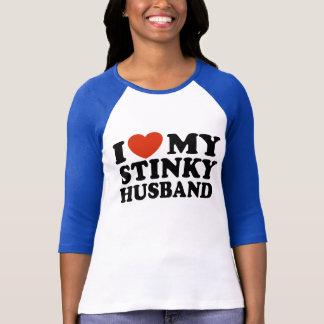 I Love My Stinky Husband T-Shirt