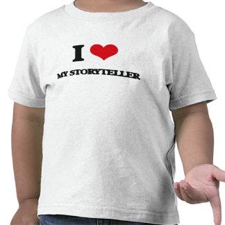 I love My Storyteller Tee Shirt