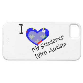 I Love My Students With Autism iPhone 5 Case