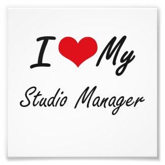 I love my Studio Manager Art Photo