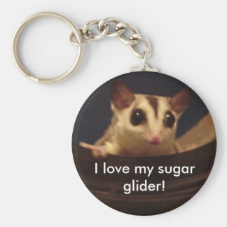 I love my sugar glider! keychain