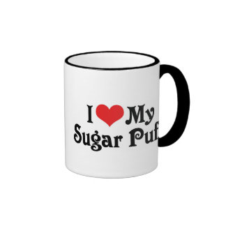 I Love My Sugar Puff Ringer Mug