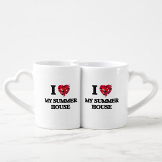 I love My Summer House Coffee Mug Set