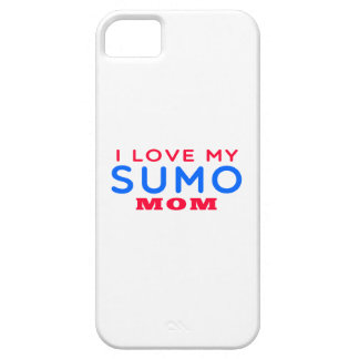 I Love My Sumo Mom iPhone 5/5S Covers