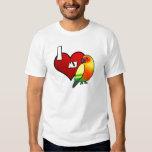 I Love my Sun Conure TeeShirt T Shirt