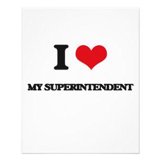 I love My Superintendent 11.5 Cm X 14 Cm Flyer
