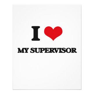 I love My Supervisor 11.5 Cm X 14 Cm Flyer