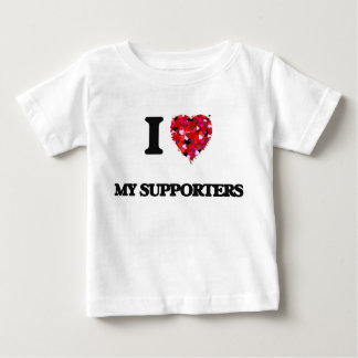 I love My Supporters T Shirt