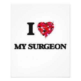 I love My Surgeon 11.5 Cm X 14 Cm Flyer