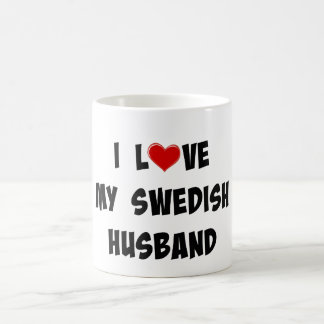 I Love My Swedish Husband Coffee Mug