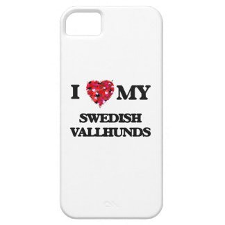 I love my Swedish Vallhund Barely There iPhone 5 Case