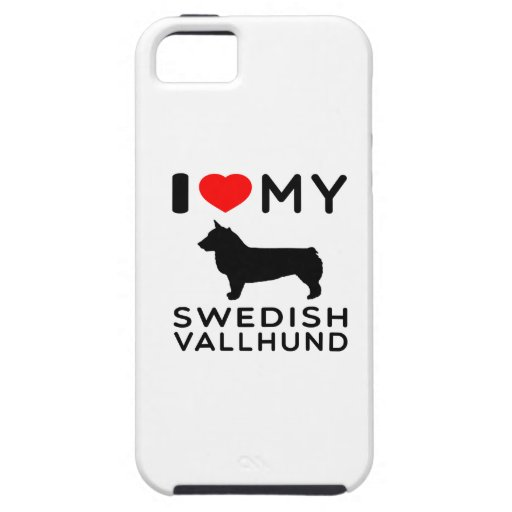 I Love My Swedish Vallhund iPhone 5 Cover