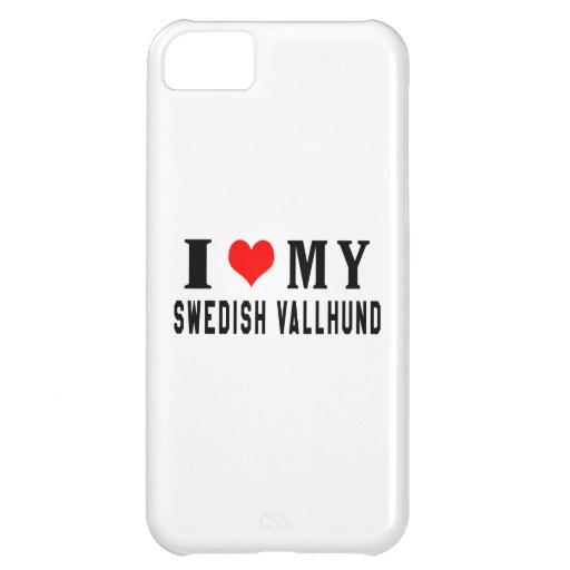 I Love My Swedish Vallhund iPhone 5C Cover