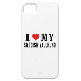 I Love My Swedish Vallhund iPhone 5 Covers